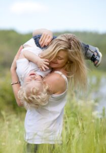 lady & child
