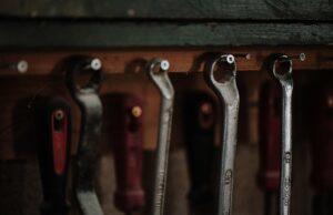 Tools hanging