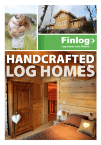 Log Homes made by Craftsmen