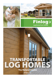 Transportable Log Homes Brochure