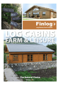 Farm & Leisure Log Cabins Brochure Front