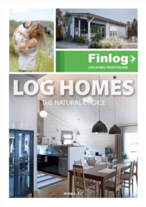 Log Homes Brochure Front