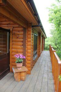 Mobile Log Home