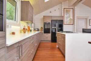 Kitchen in Wooden Lodge